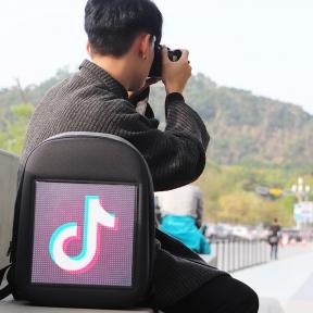 GPRS版LED青春至上动感背包